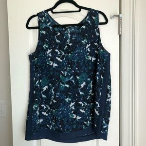 Gap Floral Sleeveless Top